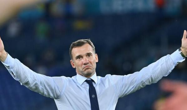 Shevchenko resigns as head coach of Ukraine